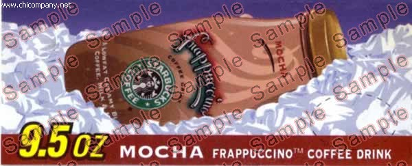 Starbucks Frappuccino Mocha 9.5oz Glass